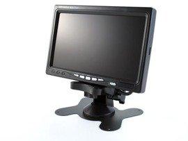 Duży, czytelny ekran monitor LCD 7 cali, 2 wejścia VIDEO, CP770 LCD