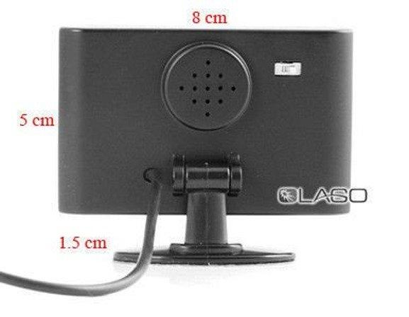 Czujniki cofania CPB22S4W 4 sensory, bezprzewodowy wyświetlacz LED