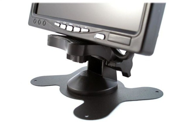 """Kamera parkowania cofania 120 stopni + duży czytelny wyświetlacz 7"""" TIR BUS KOPARKA 12V 24V"""