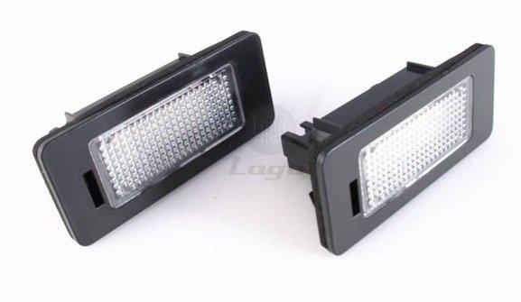 Lampki LED podświetlenia tablicy rejestracyjnej BMW