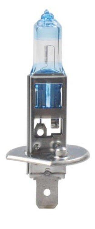 Żarówki halogenowe POWERTEC H1 55W +130% białe światło